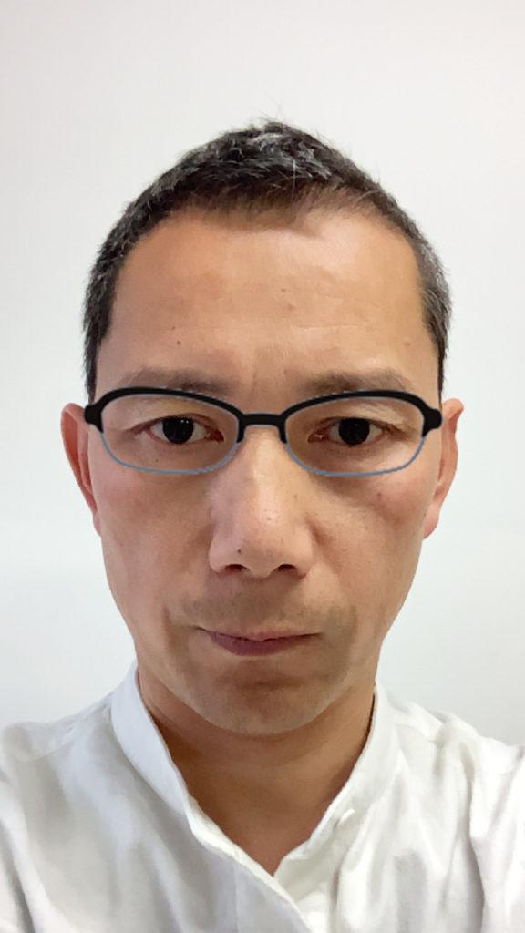 メガネを装着したイメージ 2